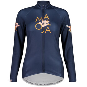 Maloja ErvaM. 1/1 Longsleeve Bike Jersey Women night sky